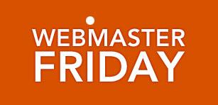 Webmasterfriday: Gemeinsam bloggen - wöchentliche Blogparade